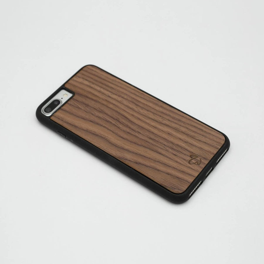 Walnut Crown Dark Wooden iPhone Case | Wood iPhone Case | IULIA