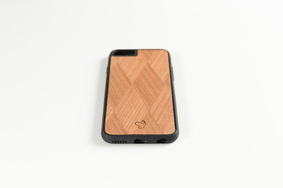 Carre Wooden iPhone Case | Wood iPhone Case | IULIA