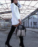 Pierro Silver Back Bag