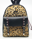 Pierro Leopard Back Bag