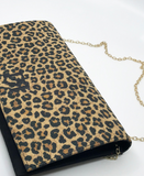 Pierro Leopard Clutch Bag