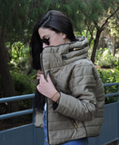 Colorado Khaki Puffer Coat