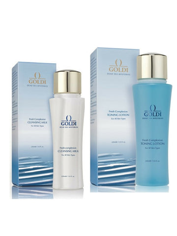 Goldi Fresh Complexion Cleansing Milk and Tonic Lotion
