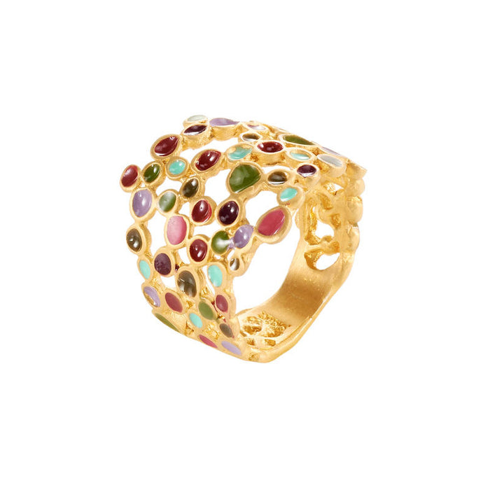Ring Golden Candy Colors