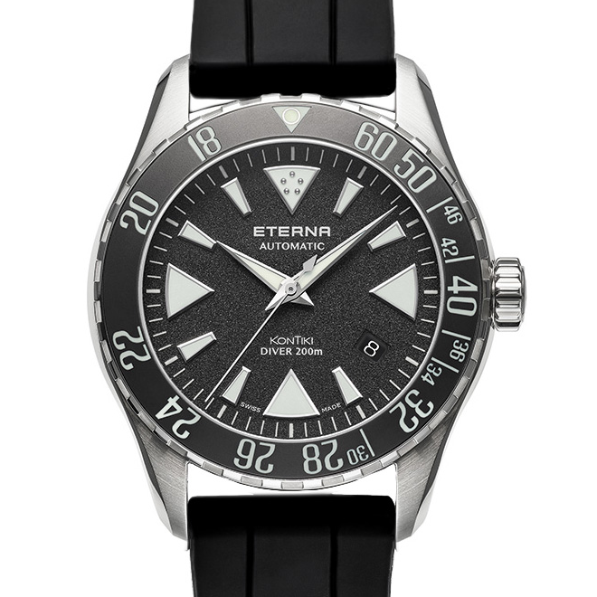 KonTiki Diver Black Ceramic 1290.41.49.1753