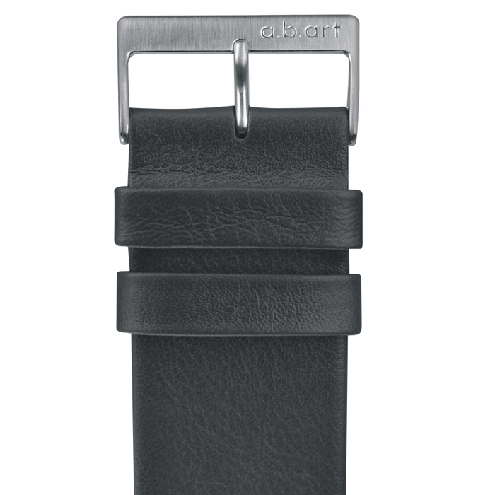 Leather strap grey 1.13 size M