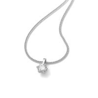 White Gold Necklace 0.84ct