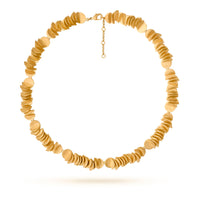 Necklace Golden Plecs