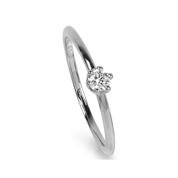 Solitaire Ring 0.20ct