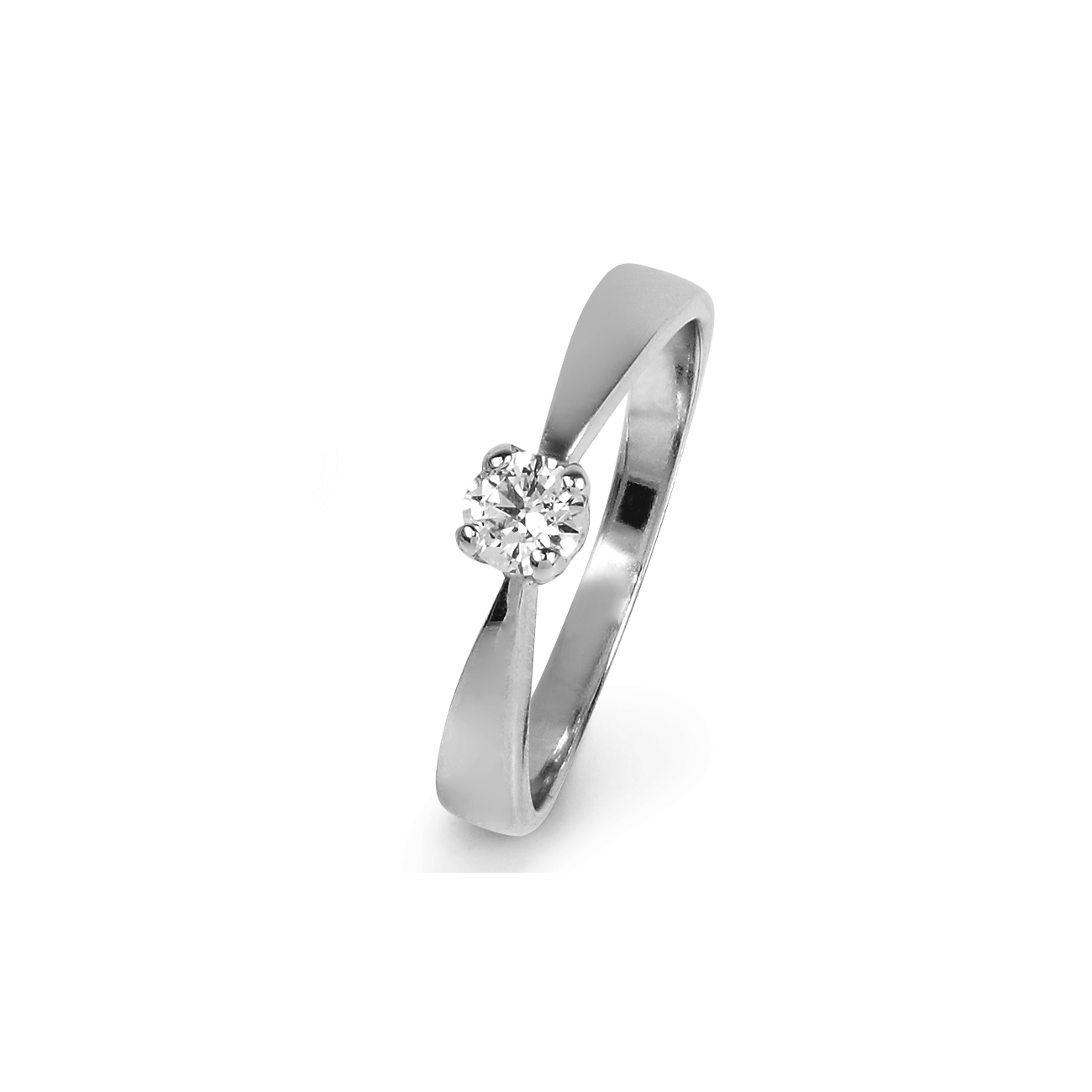 Solitaire Ring 0.30ct
