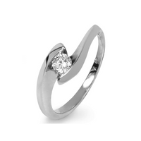 Solitaire Ring 0.25ct