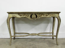 Louis XV Style Carved Wood Console Table