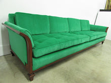Tomlinson Walnut Sofa by Erwin Lambeth