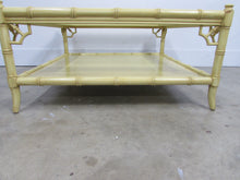 Thomasville Faux Bamboo Coffee Table