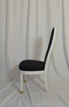 White Lacquer Henredon Dining Chairs
