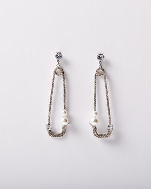 Bijoux Safety Pin Dangle Earring