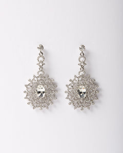 Diamond Explosion Dangle Earring