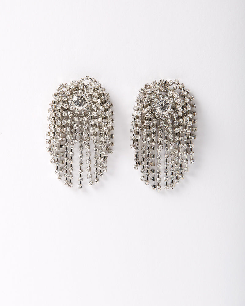 Burst of…….Rhinestone Dangle Earring