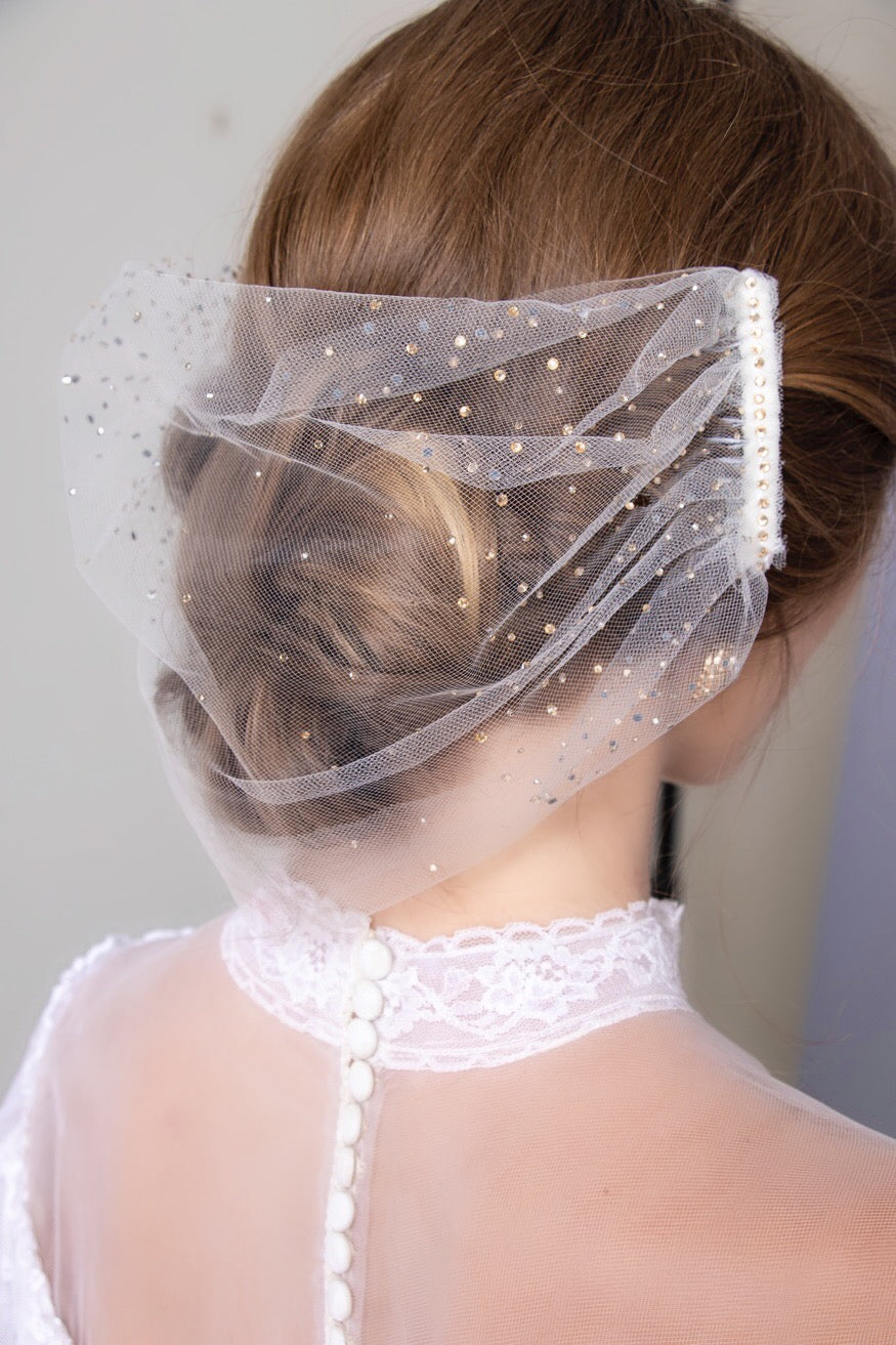 Custom Three Way Sparkled Veil