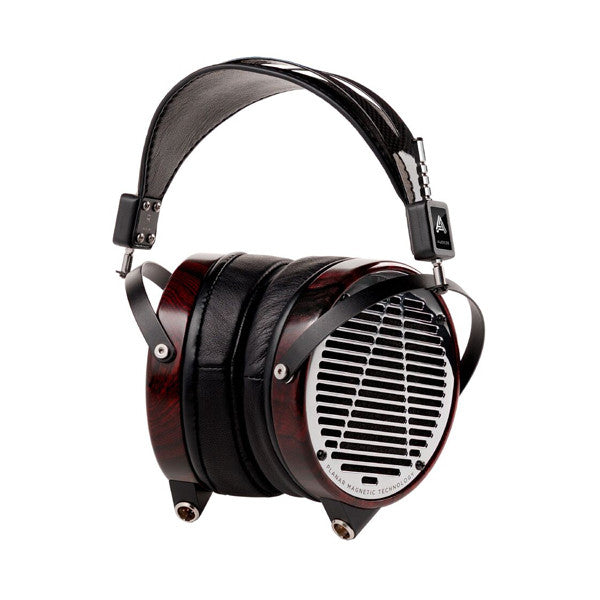 Audeze LCD-4 Open Circumaural Headphones Macassar Ebony Lambskin Leather + Travel Case