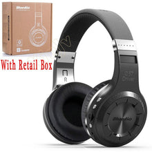 Bluedio H+ Casque Audio Auriculares Bluetooth Headset Big Earphone Head Phone Computer PC Cordless Wireless Headphone Microphone