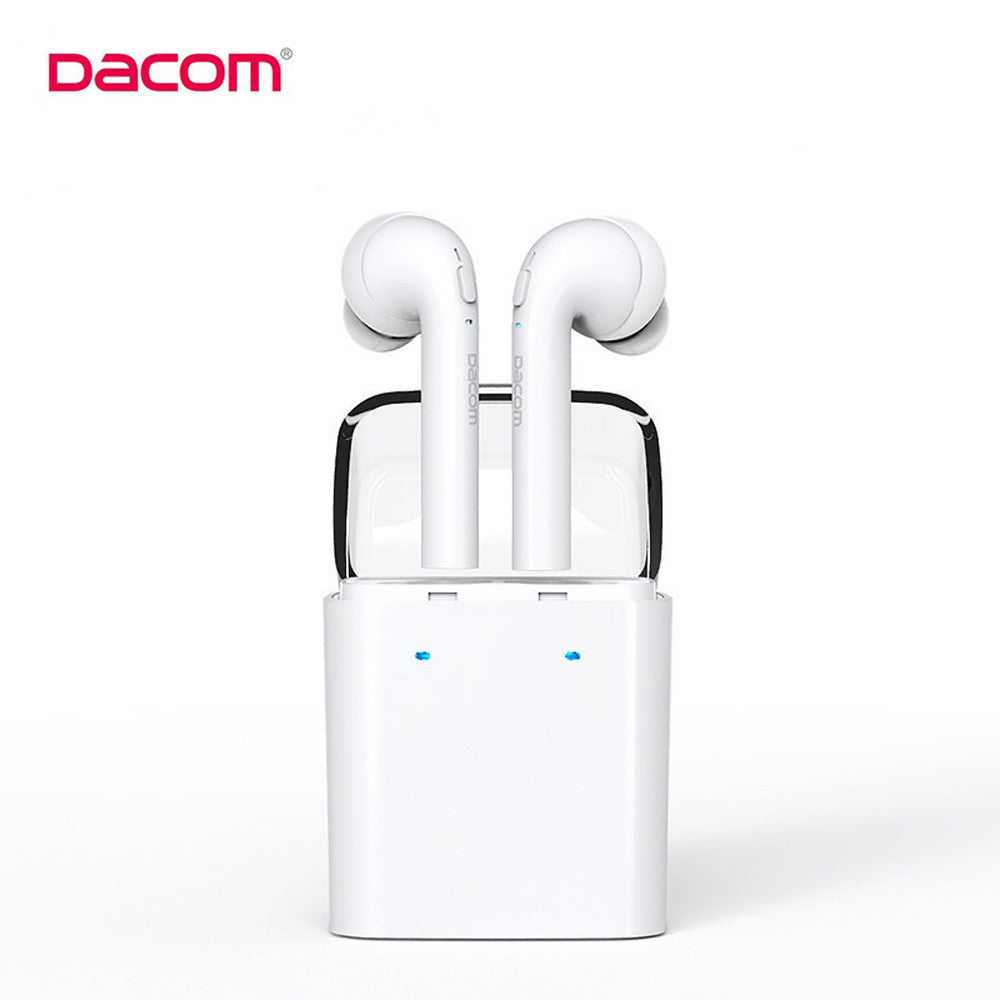 Original Dacom MINI True Wireless Bluetooth Earphone For iPhone 7 7s airpods Double Twins Bluetooth Headphone with Retail Box