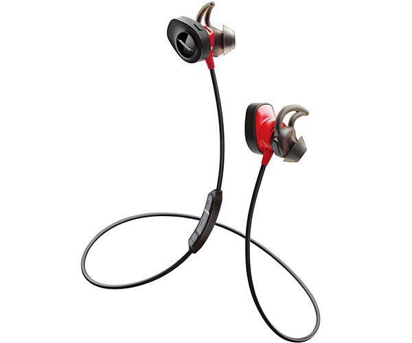 Tai nghe Bose SoundSport Pulse Wireless Headphones, Power Red
