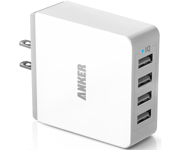 Cục sạc Anker 36W 4-Port USB Wall Charger