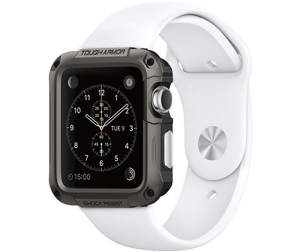 Case bảo vệ Apple Watch SGP Tough Armor (42mm Series 2) - Gun Metal