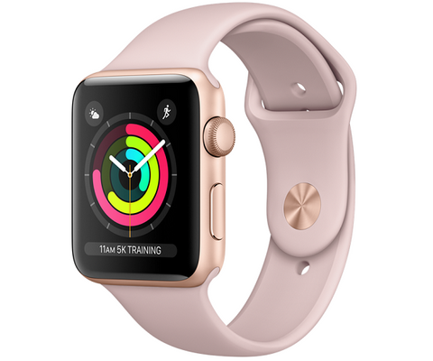 Apple Watch Sport 38mm Series 2 - Gold (Midnight Blue Sport Band)