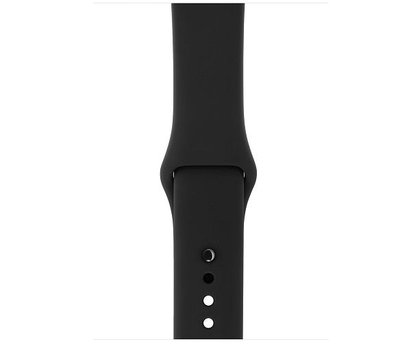 Apple Watch Sport Series 3 GPS 42mm Space Gray Aluminum Case (Black Sport Band)
