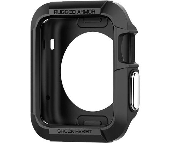 Case bảo vệ Apple Watch SGP Rugged Armor (42mm Series 2) - BLACK