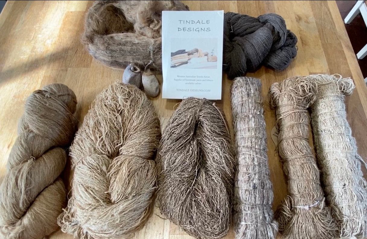 WILD TUSSAR SILK: The different types of Wild Tussar silk yarns available online