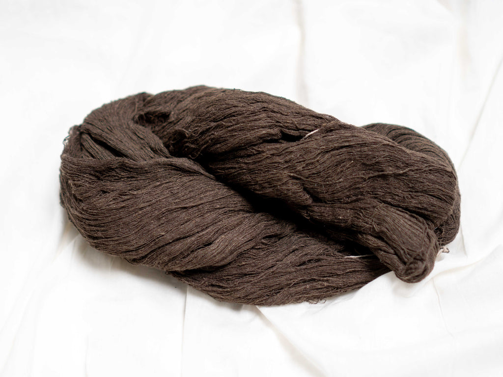 Fine 'Balkal' Wild Tussar silk - made from stem