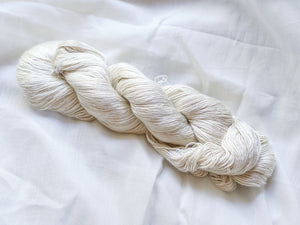 Eri Silk Yarn Hank- Shiny