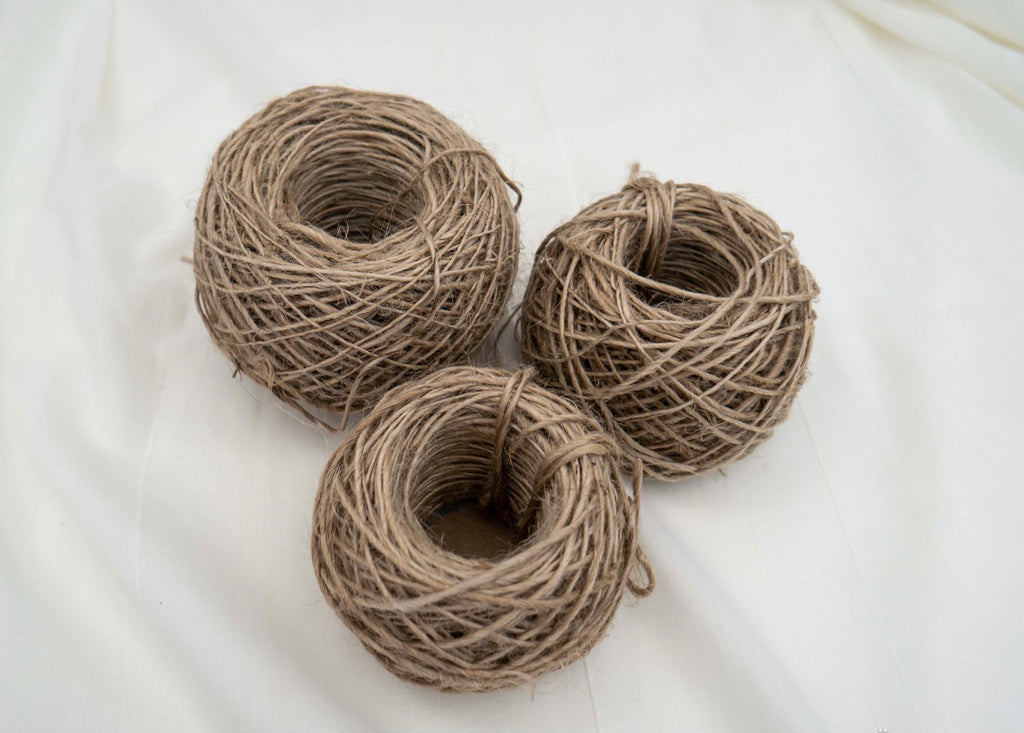 Thick  Natural Jute Yarn Ball