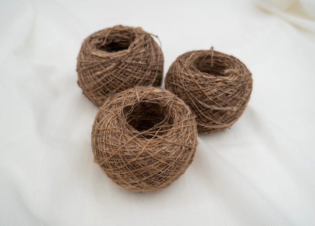 Katiya Tussar Silk Yarn Ball