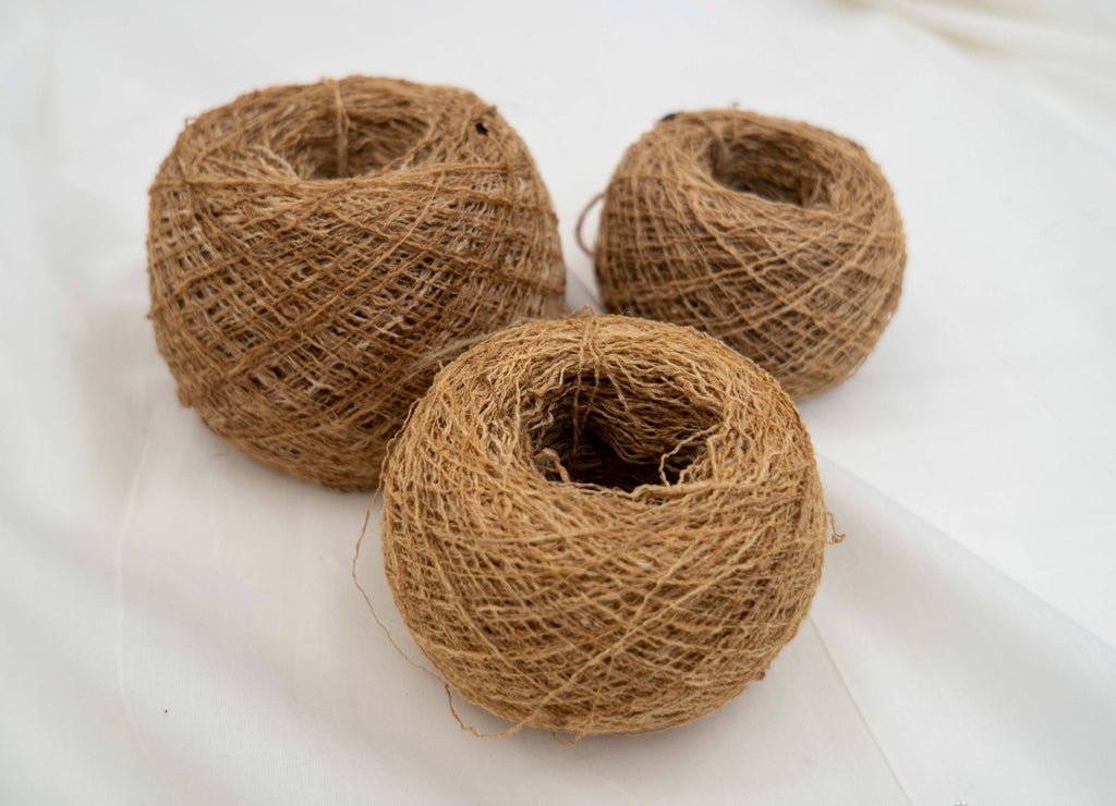 Ghicha Wild Tussar Silk Yarn Ball
