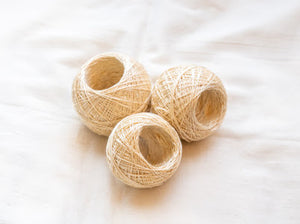 Hand Stitching Mulberry Silk Yarn Ball