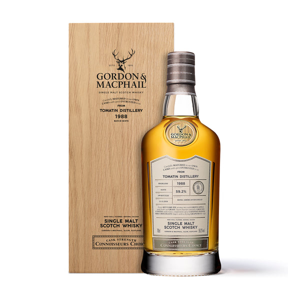 Connoisseurs Choice 1988 from Tomatin Distillery 59.2%