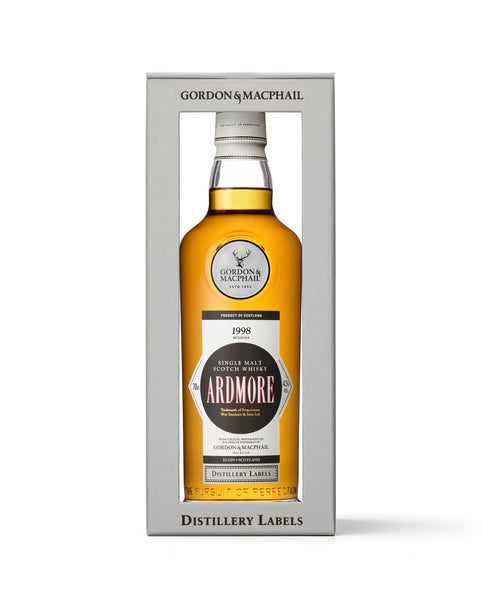 Distillery Labels Ardmore 1998 Vintage 43%