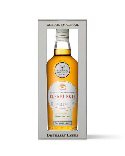 Distillery Labels Glenburgie 21 Years Old 43%