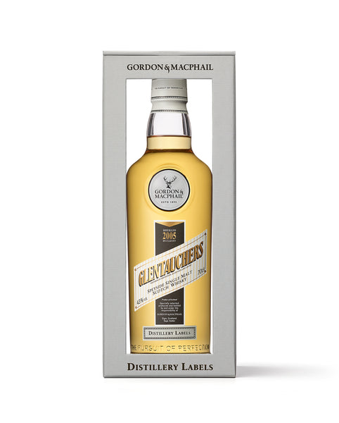 Distillery Labels Glentauchers 2005 Vintage 43%