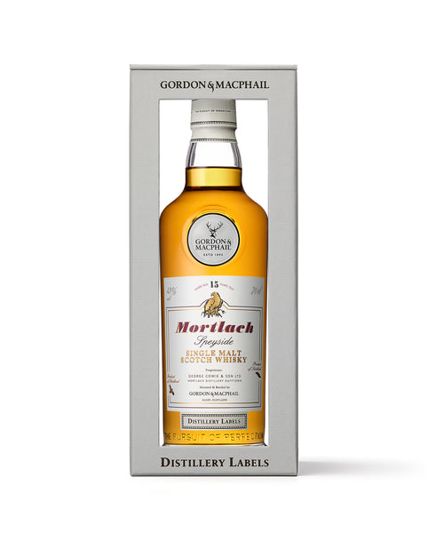 Distillery Labels Mortlach 15 Years Old 46%