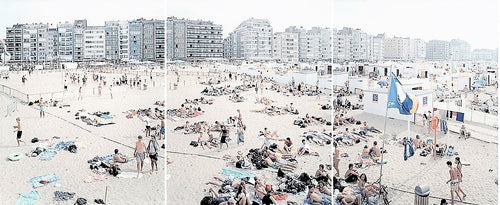 Knokke Triptych (One, Two, Three), 2006