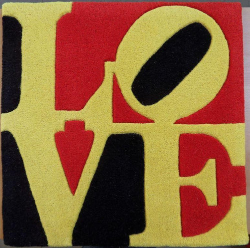 Robert Indiana - Liebe LOVE Rug, 2005