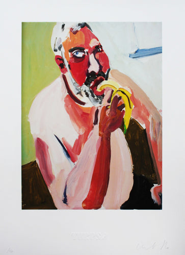 Chantal Joffe - Dan Eating a Banana, 2012