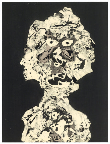 Jean Dubuffet - Personnages I, 1956