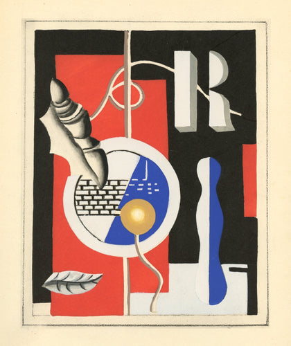 Fernand Léger - Le coquillage, 1928