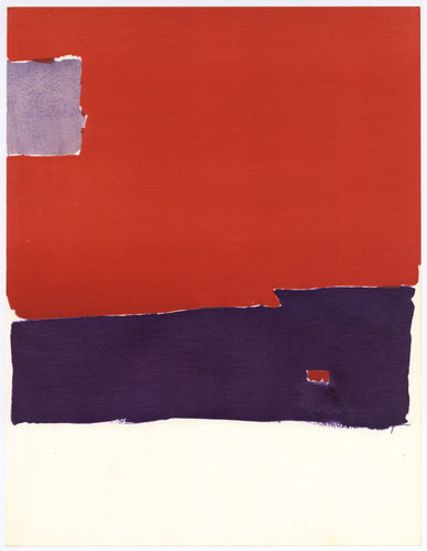 Nicolas de Staël - Untitled (Pochoir), 1959